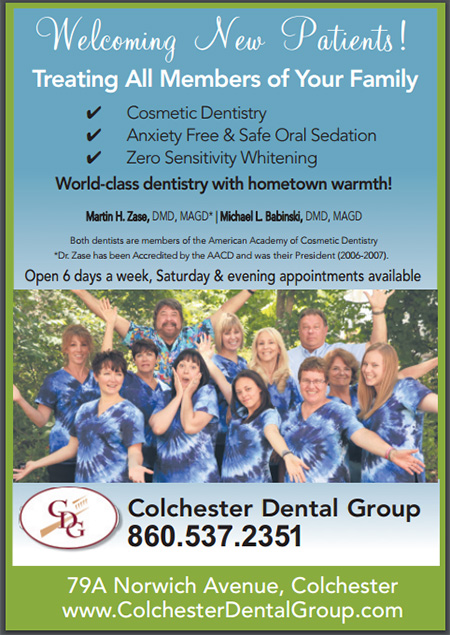 Welcoming New Patients at the Colchester Dental Group. Whiten your teeth with Zero Sensitivity. Anxiety free & Safe Oral Sedation. Cosmetic Dentistry.